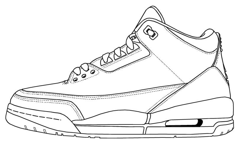 808x488 Air Jordan Iii Coloring Sheets Jordan Iii