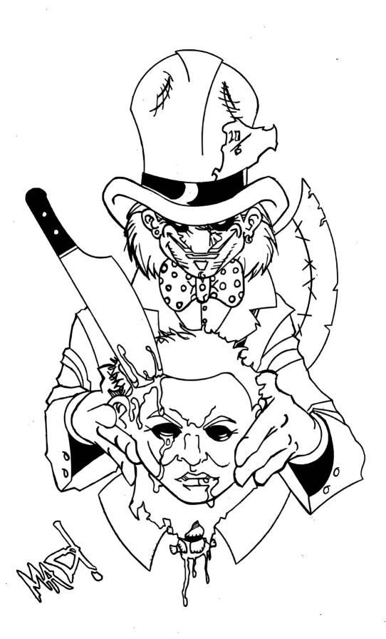 542x896 Mad Hatter Vs Mike Myers By Theinsanemadhatter