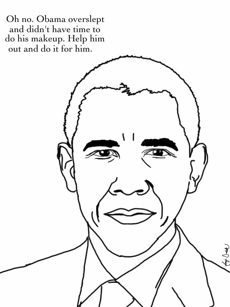 Único Michelle Obama Para Colorear Galería - Ideas Para Colorear ...