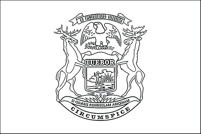 700x468 Michigan Coloring Pages