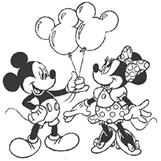 230x230 Top 66 Free Printable Mickey Mouse Coloring Pages Online