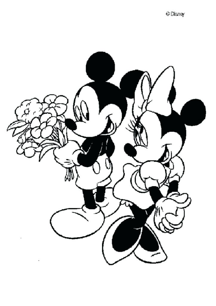 724x1024 Mini Mouse Coloring Page Mouse Is Skating Disney Minnie Mouse Free