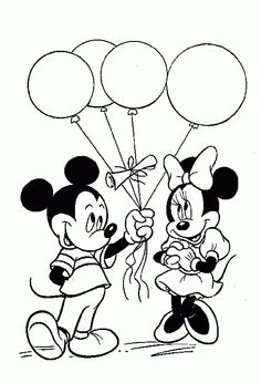 236x346 minnie mouse and mickey mouse INK Pinterest