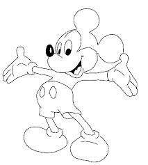 213x237 Coloring Pages Printable. Best drawing pages to print Mickey