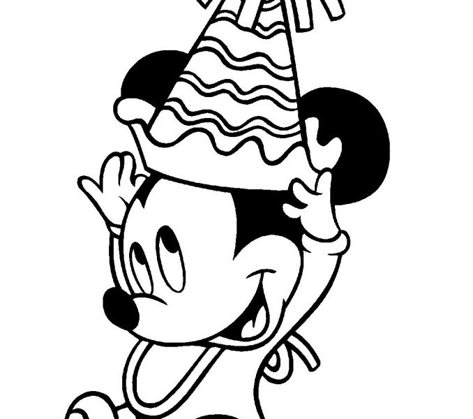 678x600 Printable Mickey Mouse Coloring Sheets Kids Coloring