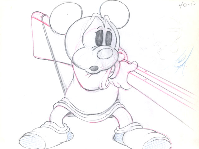 640x480 Mickey Mouse From Mickey's Parrot (1938)