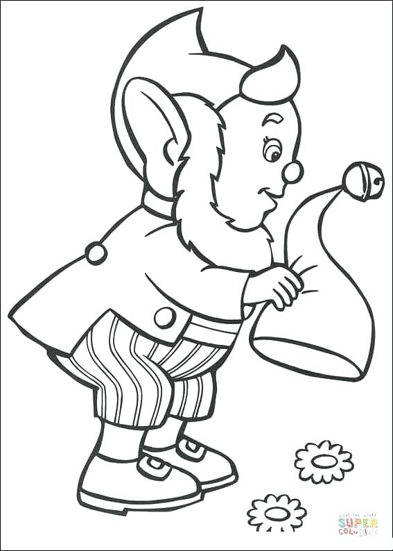 567x794 Ears Coloring Page Elf Pointed Ears Coloring Pages Throughout Ears