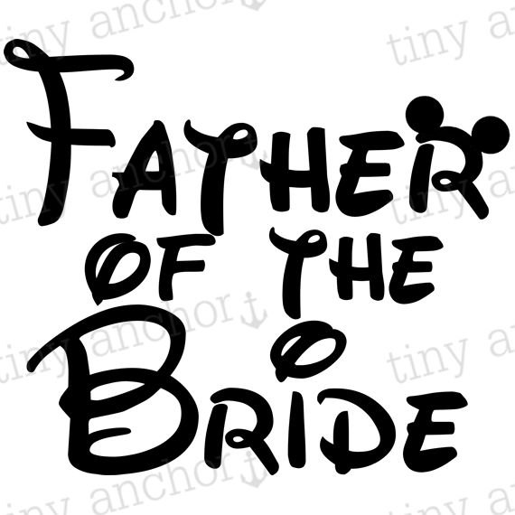 570x570 Father Of The Bride With Mickey Mouse Ears Disney Vacation Iron
