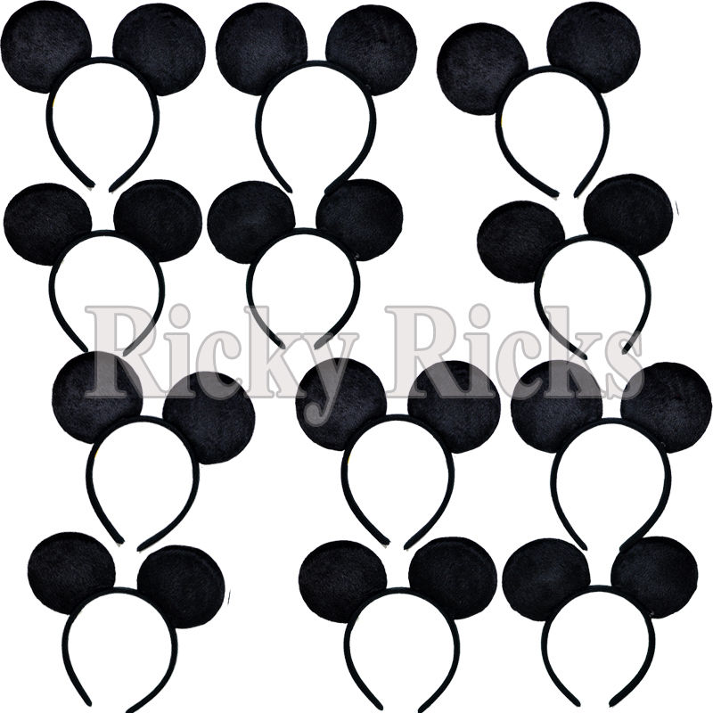 800x800 8 Mickey Ears Minnie Mouse Headbands Party Favors Costume Favors