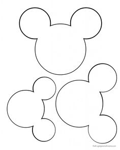 236x295 Printable Mickey Mouse Ears Template