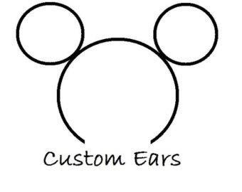 340x270 Custom Mouse Ears Etsy