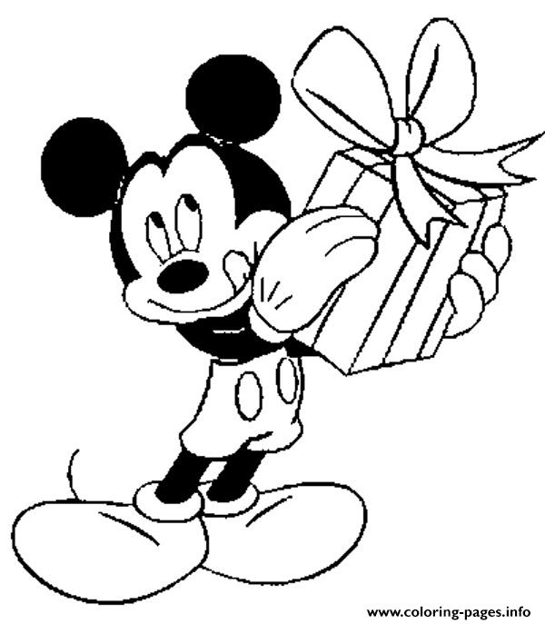 600x687 Mickey Mouse Coloring Pages To Print