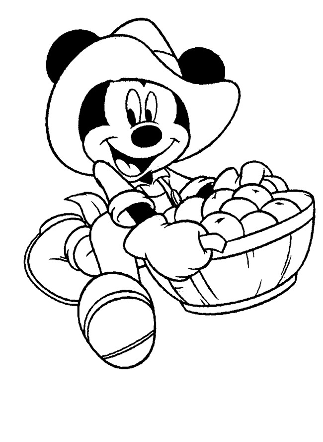 650x888 Mickey Mouse Template