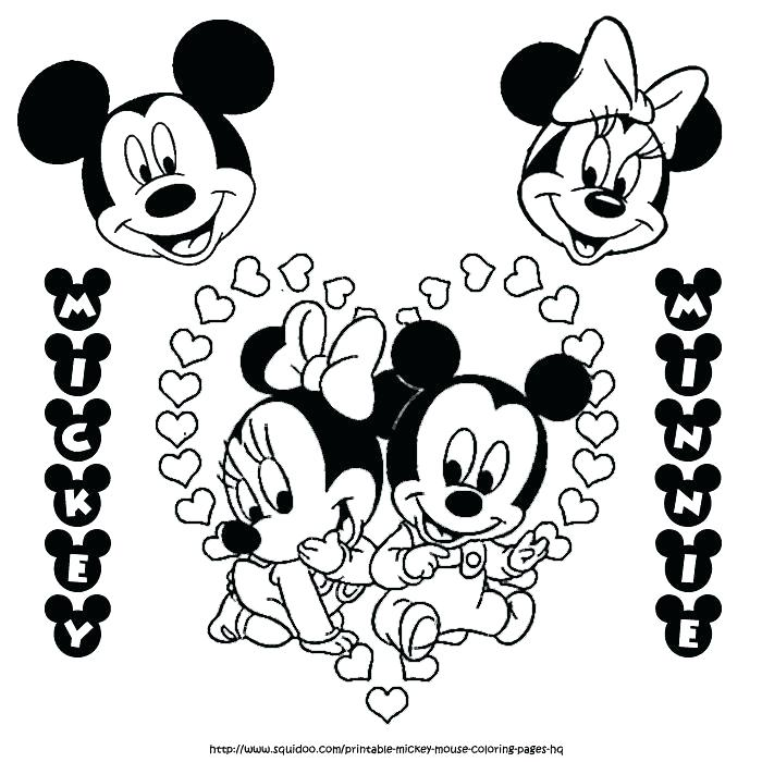 700x700 Coloring Page Mickey Mouse Mickey Mouse Free Free Printable Mouse