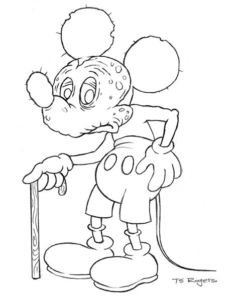 464x600 Teaessare Illustration Amp Design Mickey Mouse Job