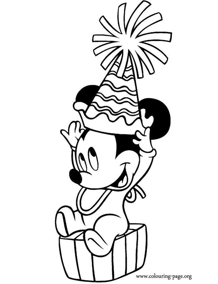 Mickey Mouse Head Drawing