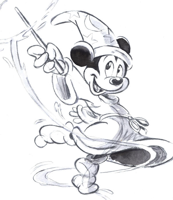 Mickey Mouse Original Drawing at GetDrawings.com | Free for personal ...