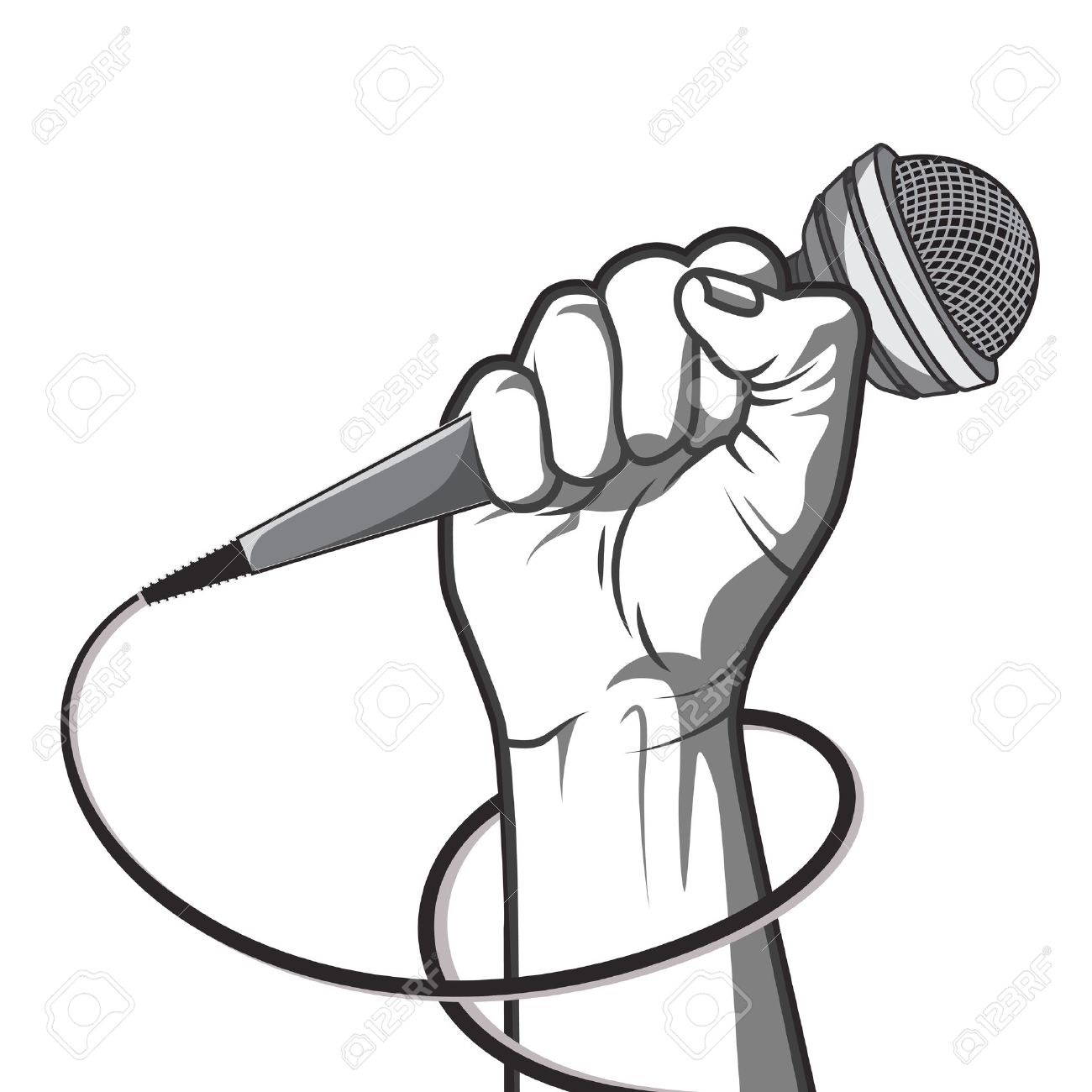 1300x1300 Hand Holding Microphone Stock Photos Amp Pictures. Royalty Free Hand