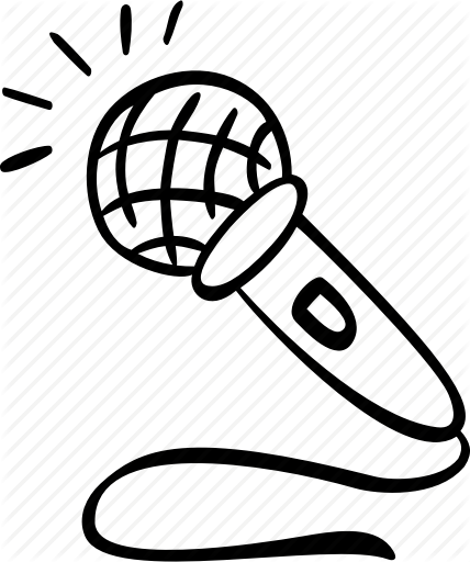 428x512 Audio, Mic, Microphone, Record, Recording, Scribble Icon Icon