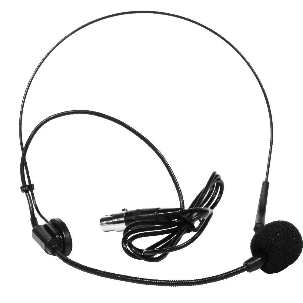 1000x1000 Black Headset Condenser Microphone For Wireless Sets Seismic