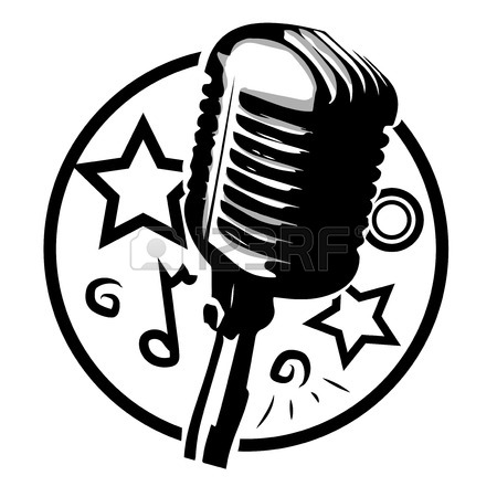 450x450 988 Antique Microphone Stock Vector Illustration And Royalty Free