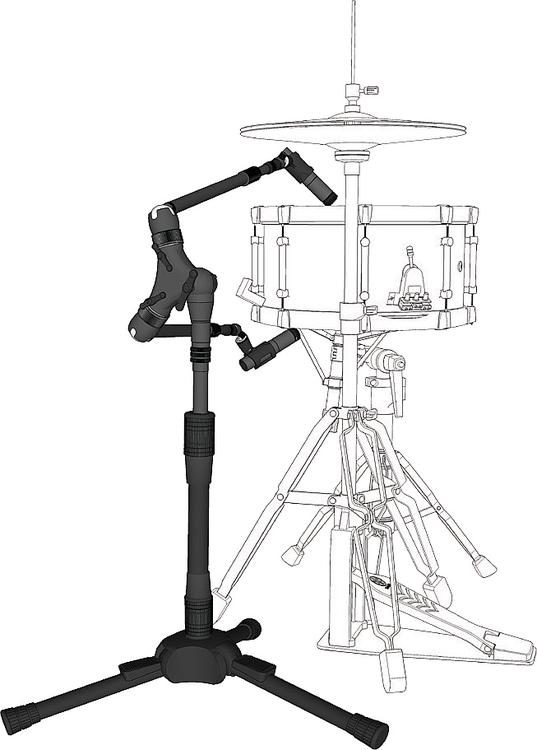 microphone stand drawing at getdrawings com
