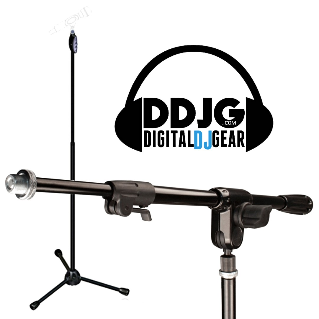 1081x1081 Ultimate Support Live T Microphone Stand With Ultiboom 3 Way Mic Boom
