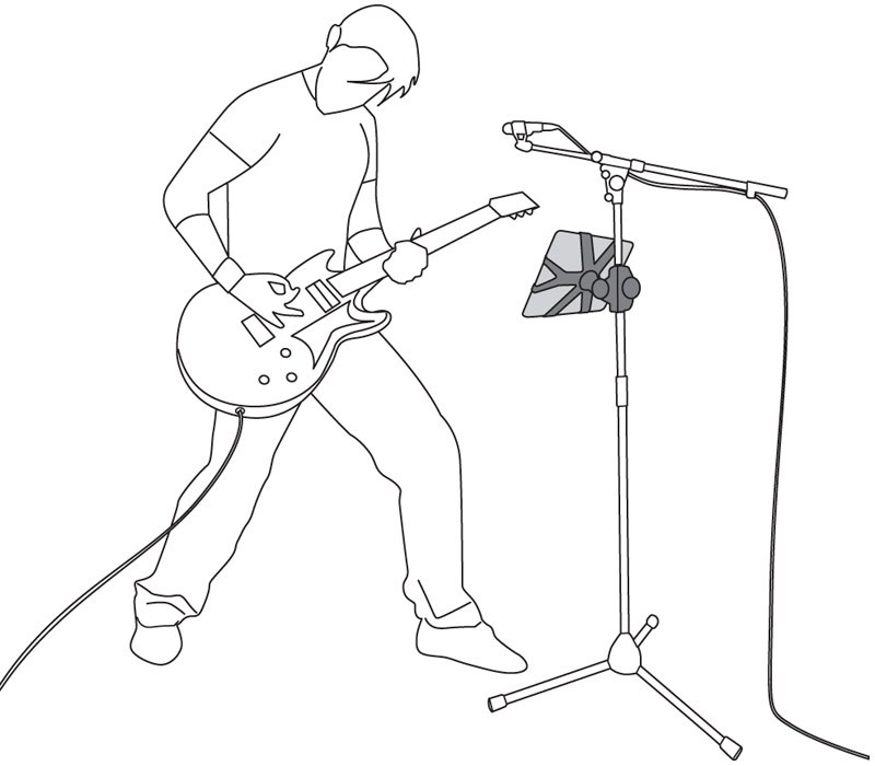 800x700 Iklip Ipad Mic Stand Guitar Gadgetynews