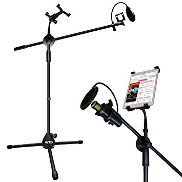 355x355 Mic Stand, Anko Fashion Easy Adjust Tablet Mount