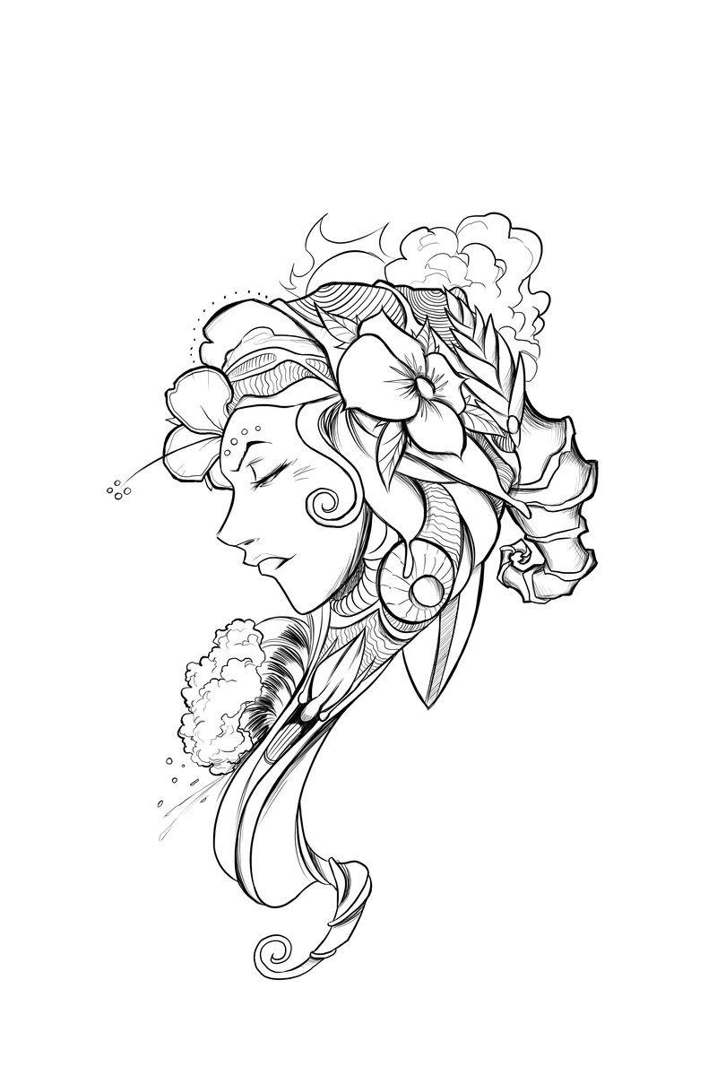 800x1199 Christina Tattoo By Poorboy Comics