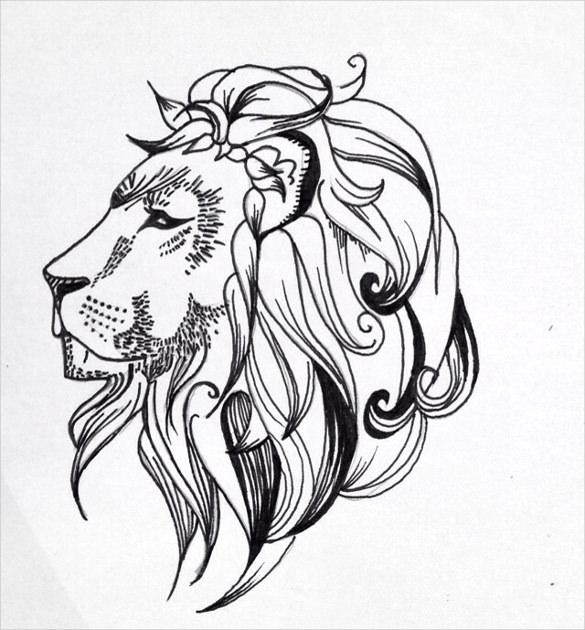 585x630 Tattoo Drawings Free Psd, Ai, Vector Eps, Pdf Format