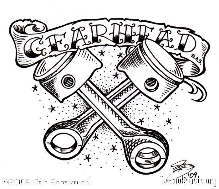 700x603 23 Best Tattoos Images On Car Tattoos, Hot Rod Tattoo