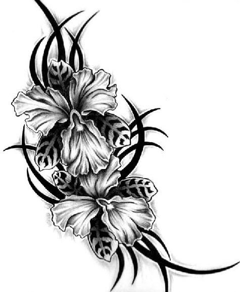 475x577 Flower Tattoo Designs And Meanings Design For Men And Women