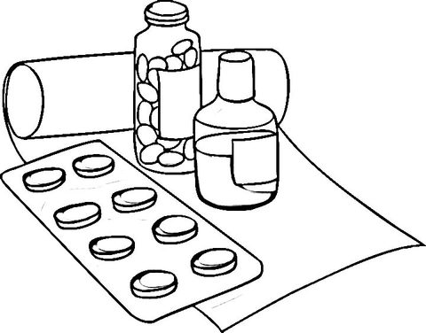 480x376 Drugs Coloring Page Free Printable Coloring Pages