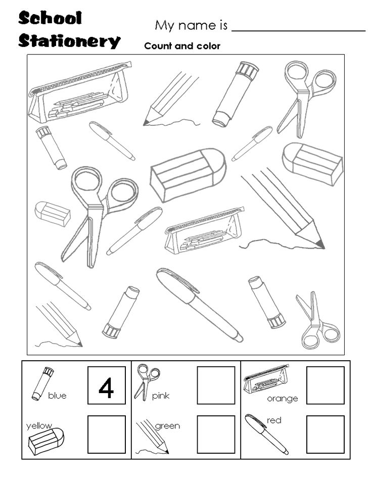 736x952 School Objects Coloring Pages 1844 Best English School Images