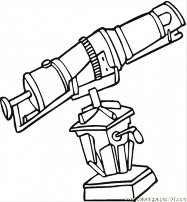 650x700 Doctor With Microscope Coloring Page