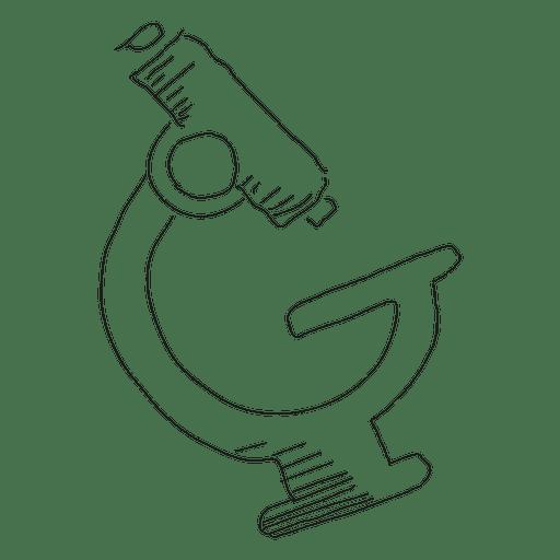 512x512 Hand Drawn Microscope
