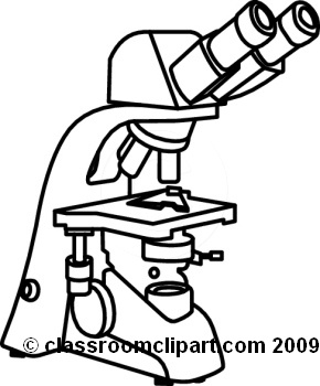 290x350 Microscope Clipart Black And White Letters Example