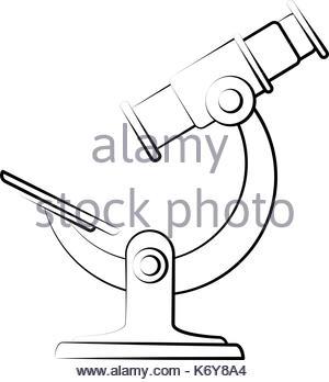 300x348 Microscope Sketch Icon Stock Vector Art Amp Illustration, Vector
