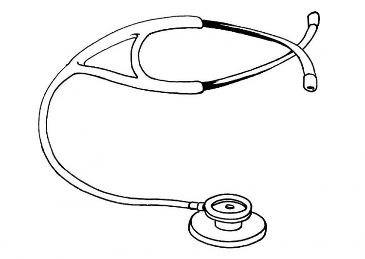 750x531 Welcome Art ~ Line Drawings Of Microscopes Amp Stethoscopes