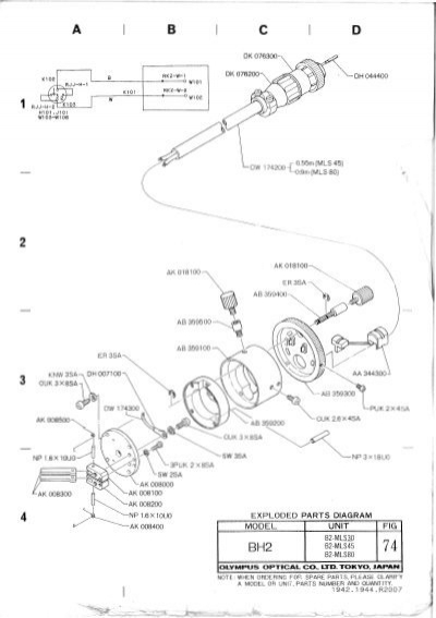 microscope parts drawing at getdrawings com