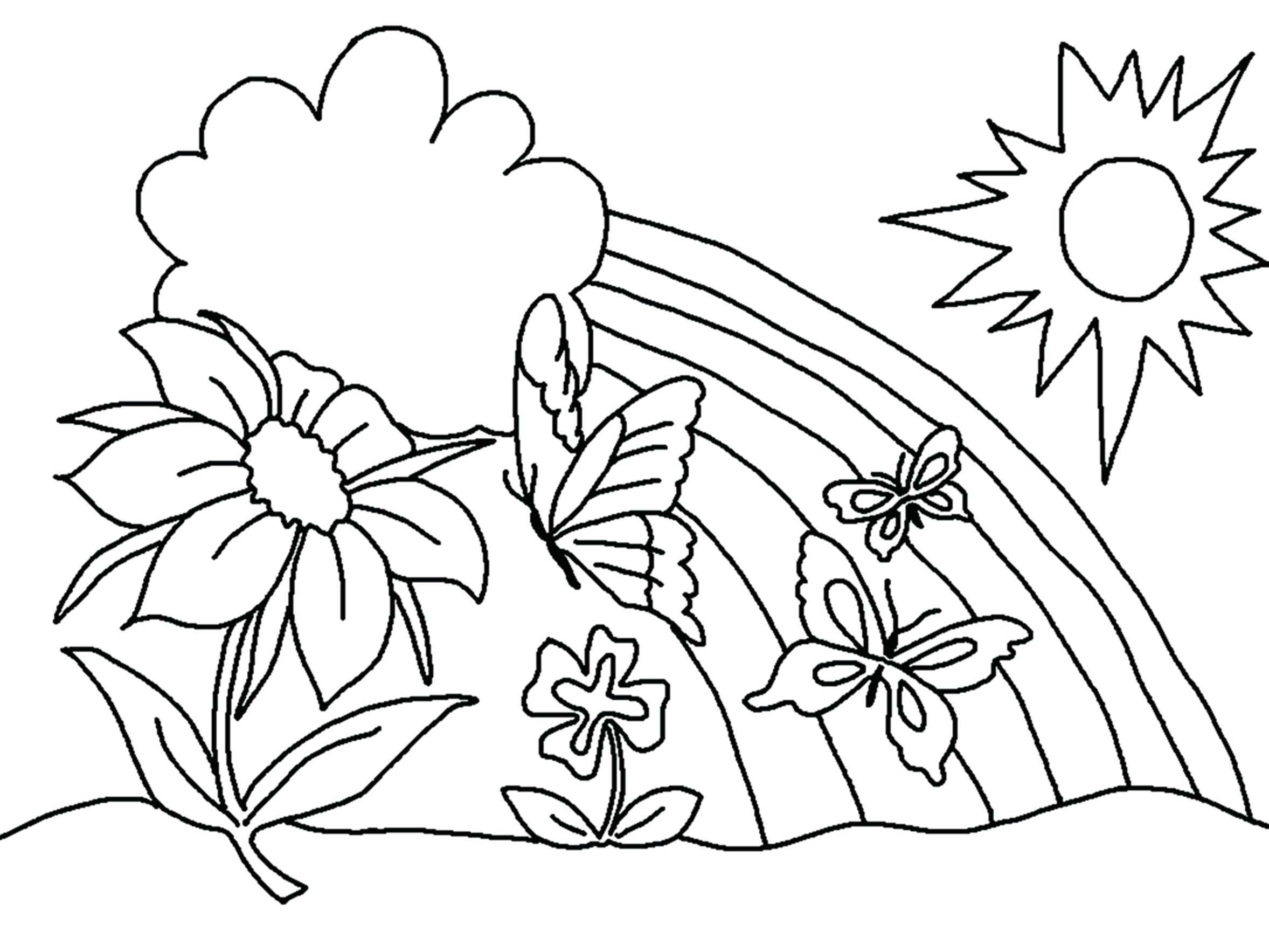 2355x1766 Coloring Paint Coloring Pages Pretty Flower Beautiful For Boys