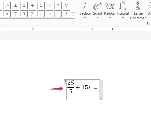 640x480 How To Insert A Division Symbol In Microsoft Word