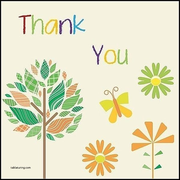 600x598 Thank You Cards Luxury Microsoft Word Thank You Card Template