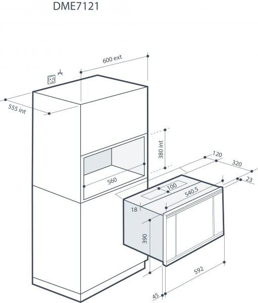 Microwave Drawing At Getdrawings Com