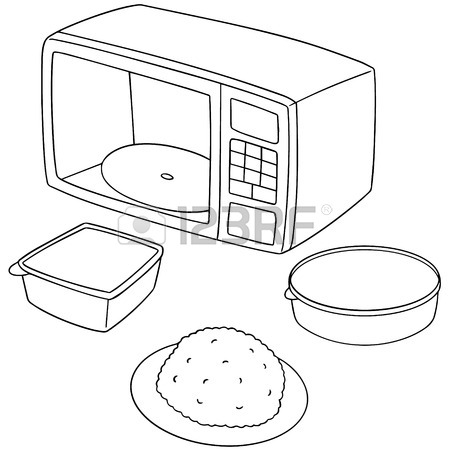 450x450 Vector Set Of Microwave Oven Royalty Free Cliparts, Vectors,