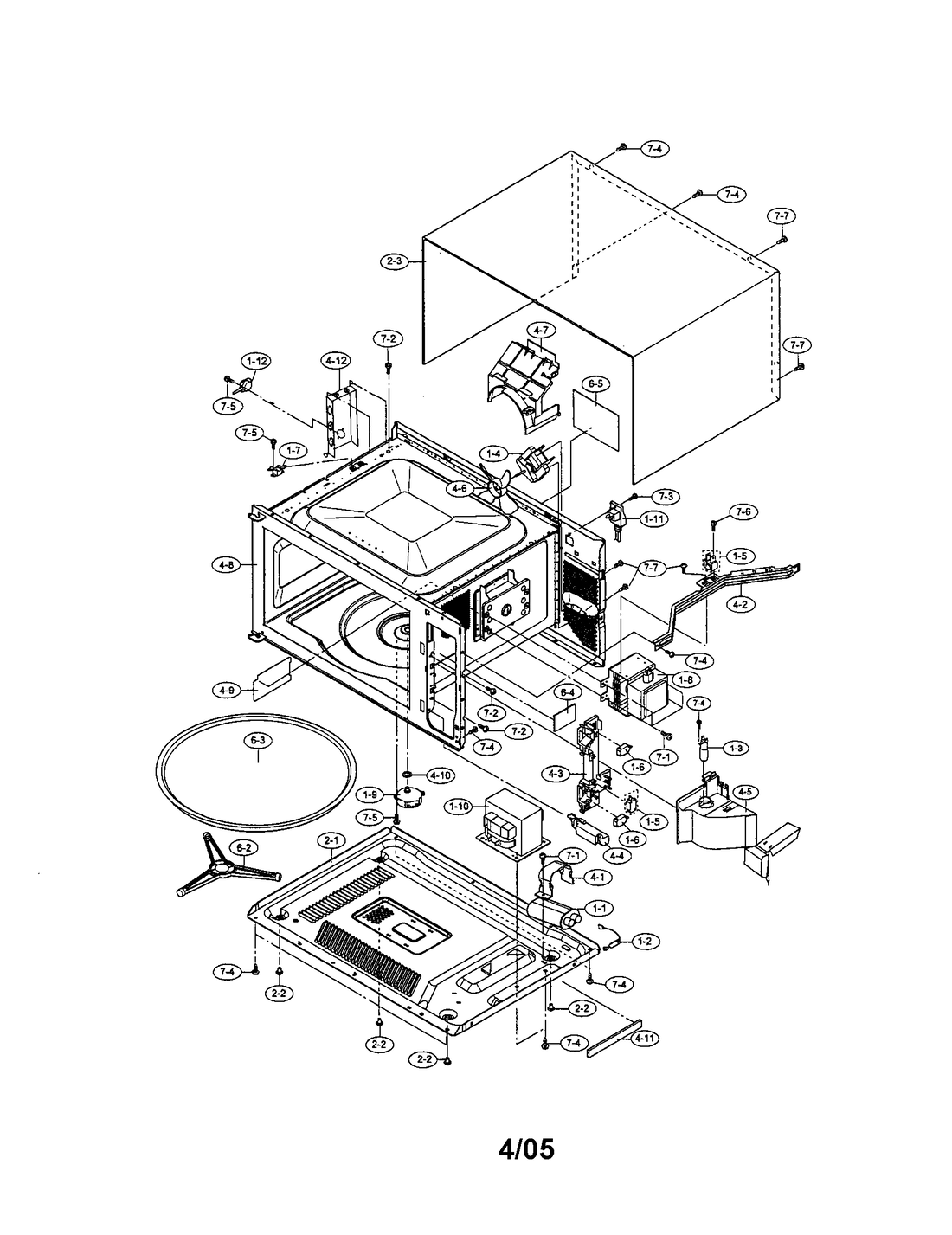 1100x1427 Patent Us4302651 High Voltage Scr Circuit For Microwave Oven