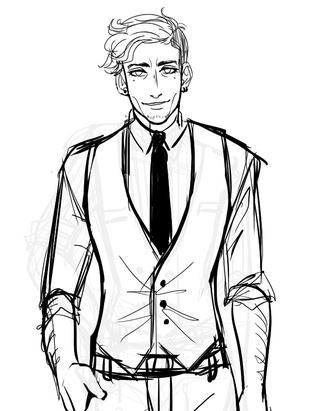 320x411 This Is A Wip Of My New Middle Aged Character Rafael For A Thing W
