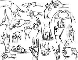 256x197 Image Result For Middle Finger Reference Drawing Hands