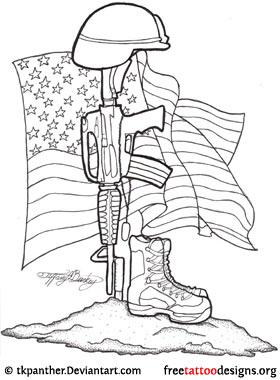 280x380 66 Military Tattoos